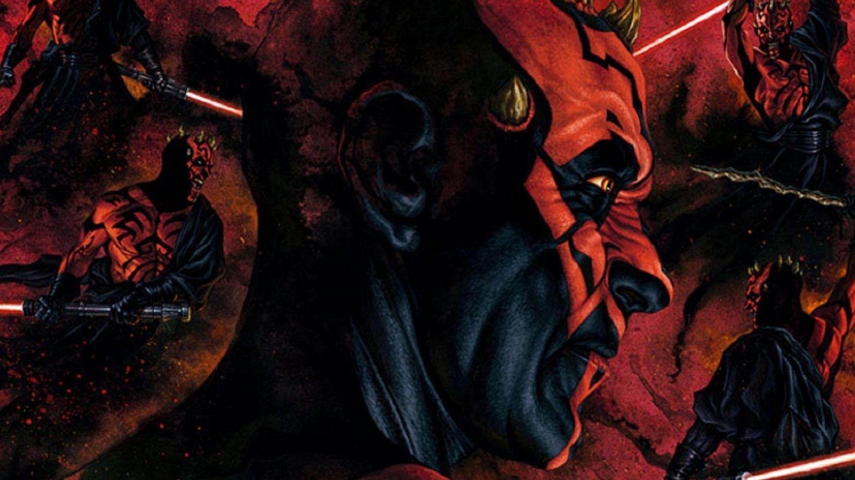 Sideshow: un poster d'art Mythos de Dark Maul