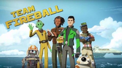 Une vidéo de présentation pour les héros de Star Wars Résistance