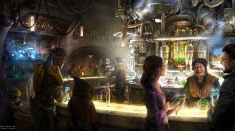 Des détails sur la cantina d'Oga de Star Wars Galaxy's Edge