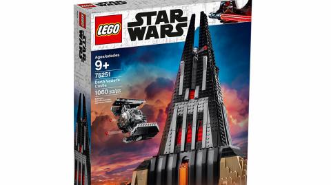 Lego annonce le château de Dark Vador