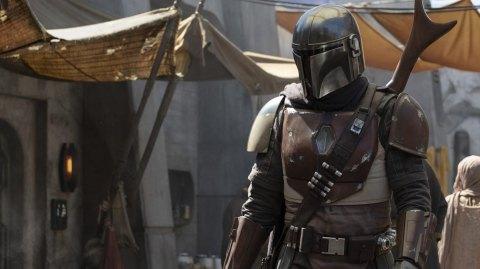 George Lucas en visite sur le tournage de The Mandalorian