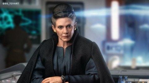 Hot Toys présente sa figurine de Leia dans Les Derniers Jedi