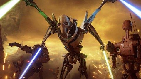Le général Grievous arrive dans Star Wars Battlefront II