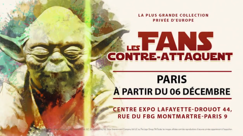 MAJ : L'Exposition Les Fans Contre Attaquent arrive à Paris !