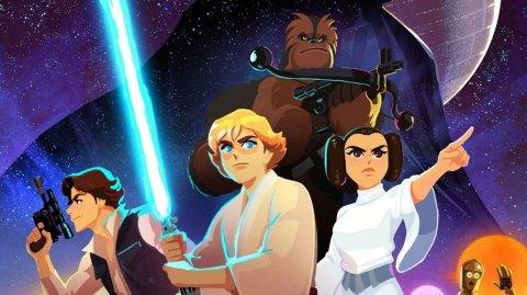 Découvrez Galaxy of Adventures : la nouvelle série animée Star Wars