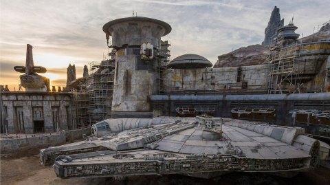 Galaxy's Edge: le Faucon Millenium semble terminé