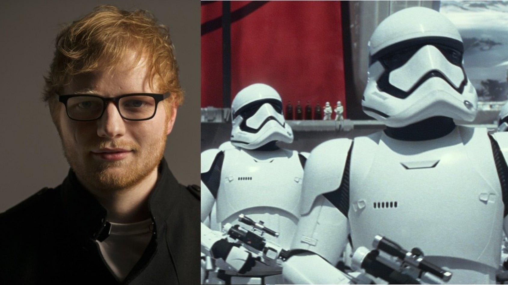 Ed Sheeran a décroché un rôle dans le prochain Star Wars