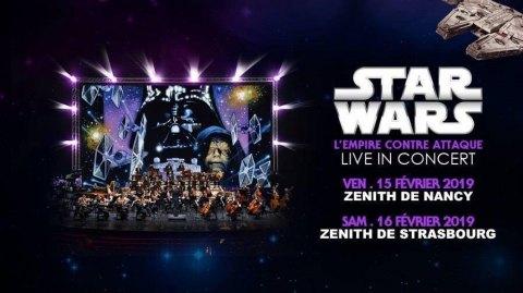 Tous Les Ciné Concerts Star Wars de l'Est de la France !