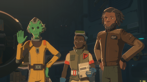 Un premier aperçu pour le nouvel épisode de Star Wars Resistance