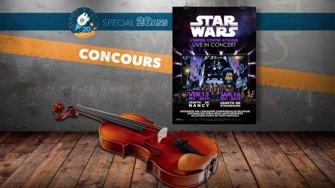 CONCOURS : Gagnez des places pour l'Empire contre Attaque en Concert !
