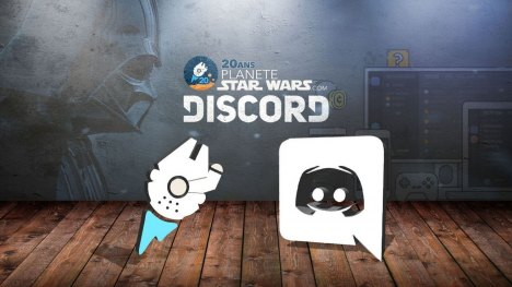 Le Discord officiel de Planète Star Wars !