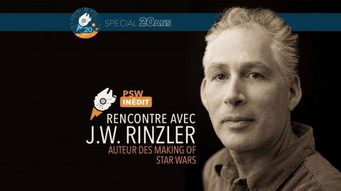 Entrevue avec J.W. Rinzler auteur des livres Making of Star Wars