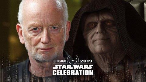 L'Empereur arrive à Star Wars Celebration Chicago!