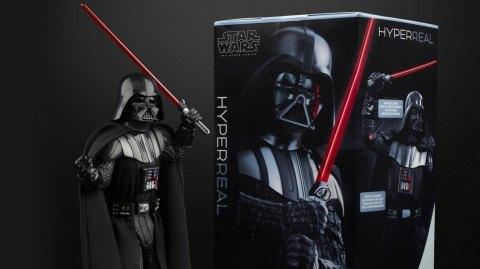 Hasbro lance la gamme de figurines Hyper Real avec Dark Vador
