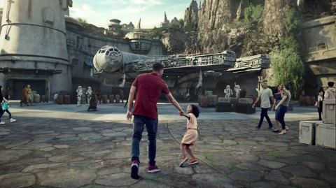 Galaxy's Edge: Disneyland filme la réaction de ses futurs employés
