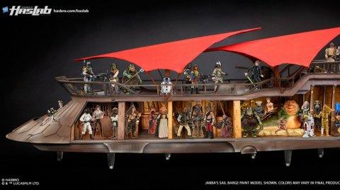 La Barge de Jabba Hasbro arrive en Europe !
