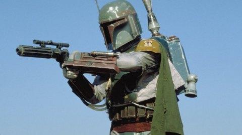 Les blasters de Boba Fett et des Stormtroopers en kit chez ANOVOS