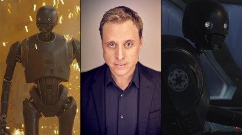 Alan Tudyk sera bien de retour en K-2SO dans la série sur Cassian