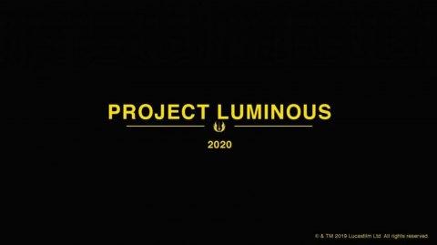 Luminous Project: un nouveau projet de LucasFilm