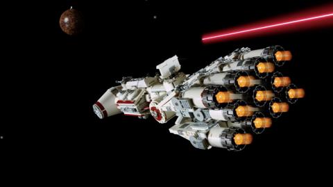 L'iconique Tantive IV est disponible chez LEGO
