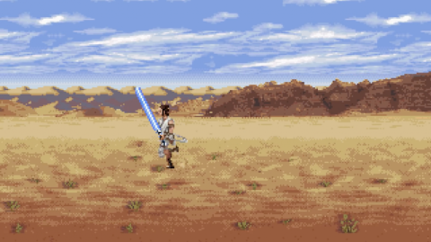 Découvrez le teaser de l'Ascension de Skywalker en 16 bits