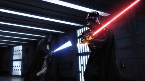 Le duel entre Dark Vador et Obi-Wan comme vous ne l'avez jamais vu