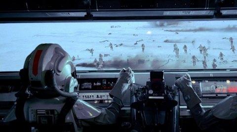 Le casque du pilote de quadripode impérial en réservation chez ANOVOS