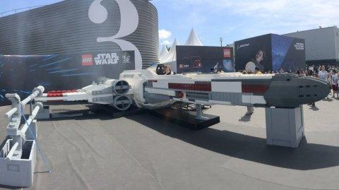 LEGO présente un X-Wing grandeur nature au Bourget