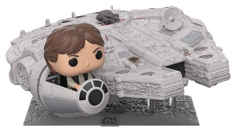 Han Solo dans le Faucon Millenium en version Funko Pop
