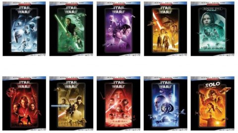 La saga Star Wars va re-sortir en blu-ray et DVD