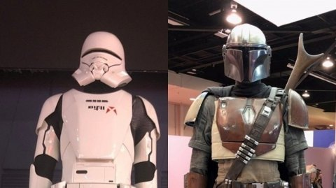 La D23 dévoile des costumes de l'Ascension de Skywalker et Mandalorian