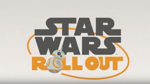 Nouvel épisode pour la série Star Wars Roll Out