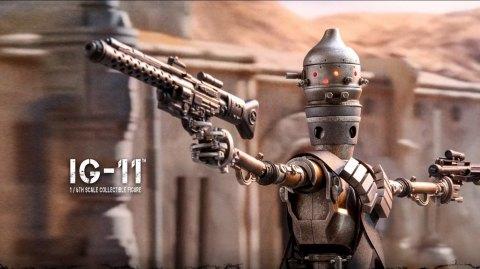 Hot Toys : IG-11 se dévoile à son tour